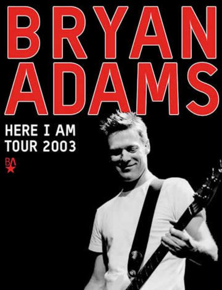 Bryan Adams: Tour 2003