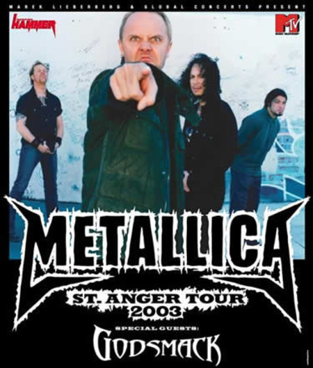 Metallica: St. Anger Tour 2003
