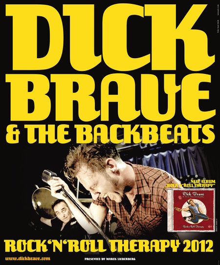 Dick Brave &amp; The Backbeats: Rock 'n' Roll Therapy Tour - 2012
