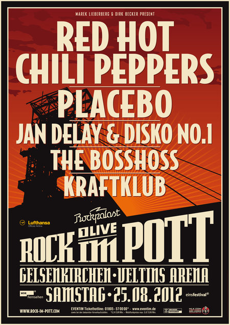 Red Hot Chili Peppers Tours