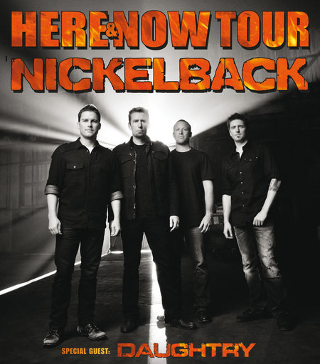 Nickelback: Here & Now Tour 2012