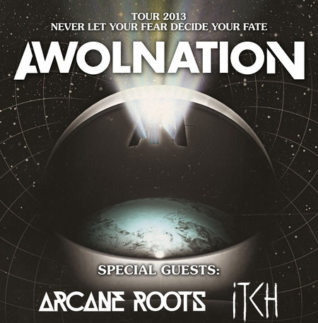 Awolnation: Tour 2013