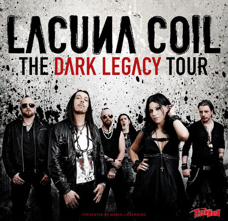 Lacuna Coil: The Dark Legacy Tour 2012