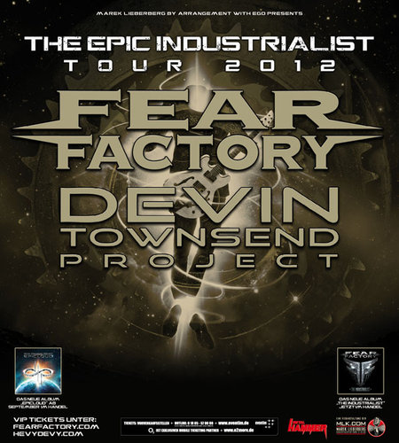 Fear Factory &amp; Devin Townsend Project: Tour 2012
