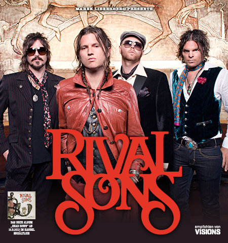 Rival Sons: Tour 2012
