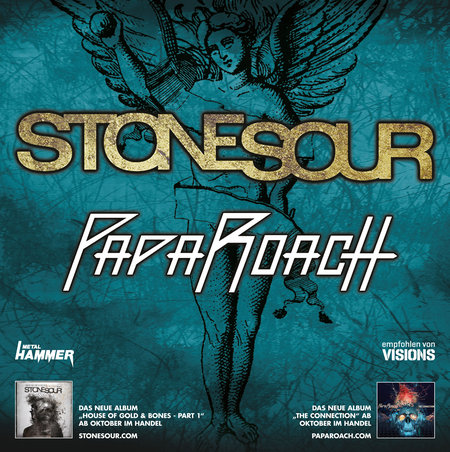 Stone Sour: &amp; Papa Roach - Tour 2012