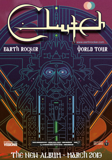 Clutch: Tour 2013