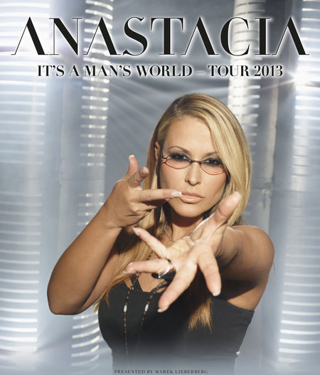 Anastacia: It's A Man's World Tour 2013