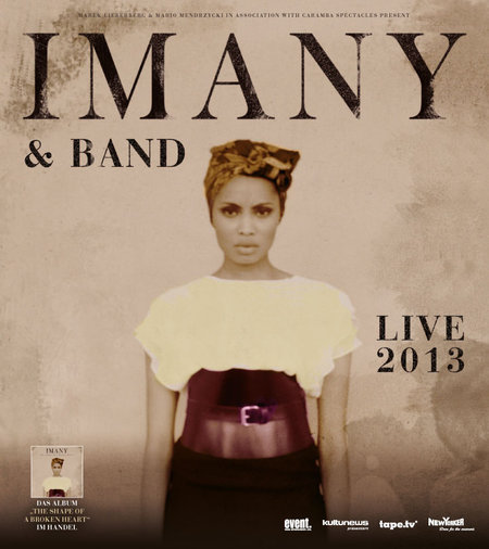Imany: &amp; Band - Live 2013