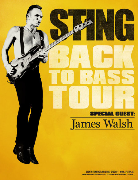 Sting: Back To Bass - Tour 2013