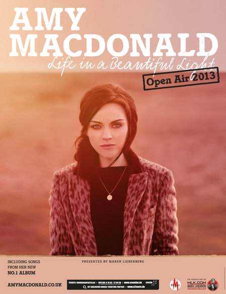 amy macdonald life in a beautiful light open air 2013. Black Bedroom Furniture Sets. Home Design Ideas