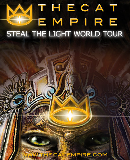 The Cat Empire: Steal The Light World Tour 2013