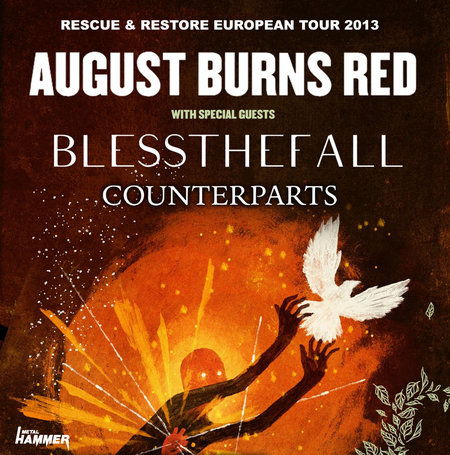 August Burns Red: Tour 2013