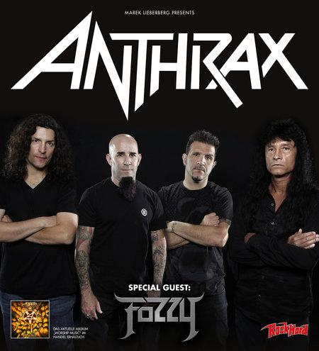 Anthrax: Live 2013