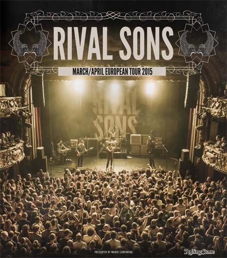 Rival Sons: European Tour 2015