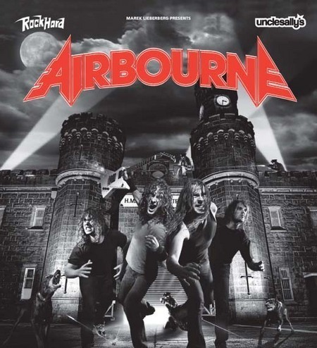 Airbourne: Tour 2008